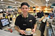 Sam Harries from Pelcomb has been named the Marks and Spencer Barista of the Year for 2015.  PICTURE: Western Telegraph (20580131)