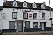 Fishguard's vacant Abergwaun Hotel came up in the performance review report. PICTURE: Western Telegraph