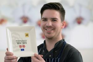 Top chef serves up rosette success
