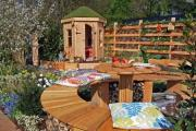 Shani Lawrence Garden Designs and new business, Made for Gardens, won silver at the recent Royal Horticultural Society Flower Show in Cardiff. (24775200)