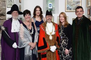 New Tenby mayor takes up role