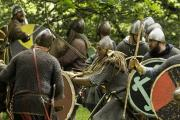 This bank holiday weekend the Battle of Agincourt will be re-enacted at Cilgerran Castle by living history group the Companions of the Forest