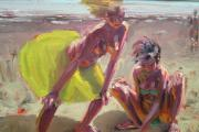 Beach Painting by artist Kevin Sinnot, event judge. (26901386)