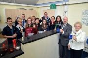 Young people and local councillors attended the official re-opening Neyland Youth Centre this week. (27497238)