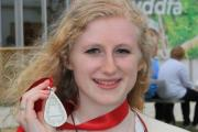 Ffion Williams won the prestigious Drama Medal at the Caerphilly and District Urdd National Eisteddfod 2015.    (27468068)
