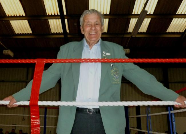 John Phillips has been involved in amateur boxing for 45 years as a referee and judge. (28047111)