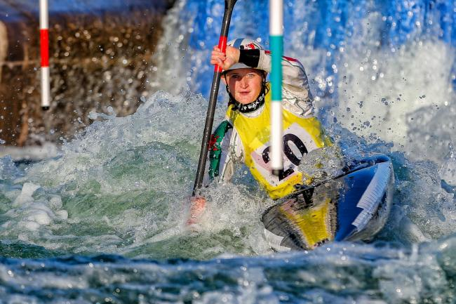 Gabrielle Ridge, who is a rising star in the tough world of Canoe Slalom. (31553149)