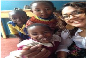 Former Milford Haven School head girl heads to Africa to support communities