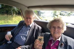 Diamond celebrations for Whitland couple