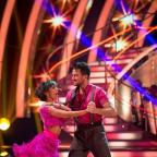 Western Telegraph: Peter Andre and Janette Manrara are tipped to well in Strictly Come Dancing