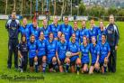 Haverfordwest Ladies RFC in their new shirts sponsored by JCP Solicitors. PICTURE: Brian Sandow