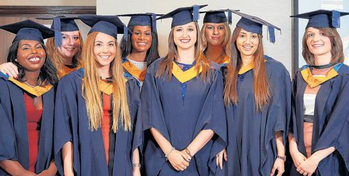 Graduates - some of the latest students at Anglia Ruskin