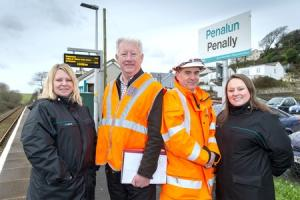 Penally station works complete £6.5m improvements