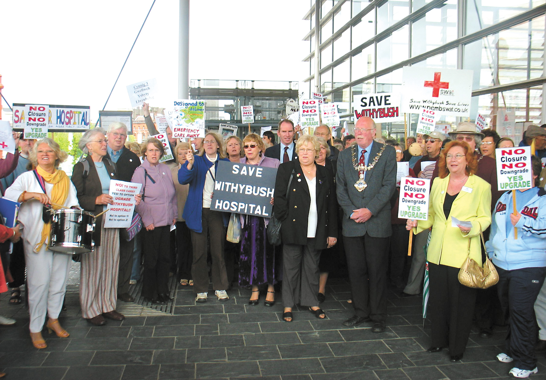 Health campaigners will be heading to the Senedd again on Wednesday.