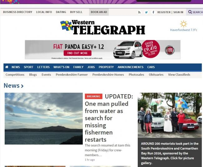 dating telegraph search