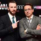 Western Telegraph: Robert Downey Jr and Chris Evans visit Avengers fan with cancer