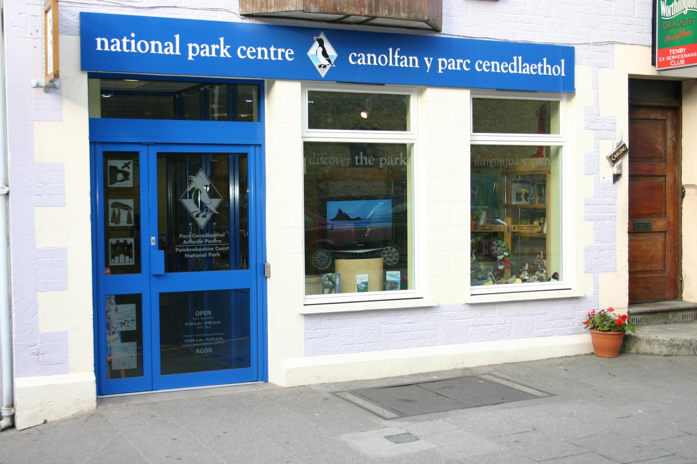 Tenby and Newport National Park Visitor Centres are to close.