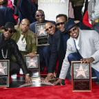 Western Telegraph: 80s group New Edition presented with Hollywood Walk of Fame star