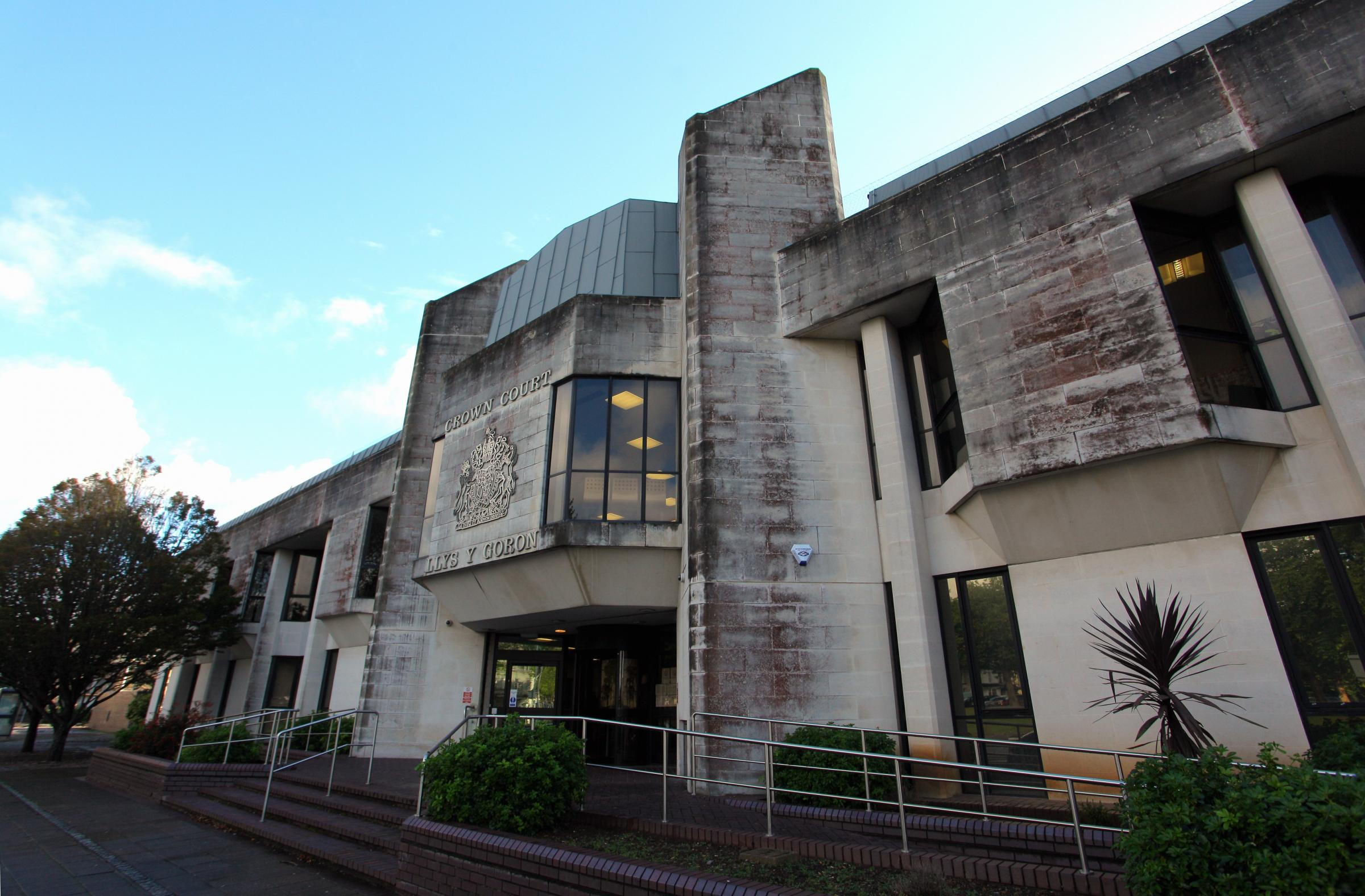 Swansea Crown Court file pics.