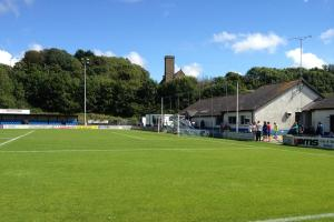 The Conygar Bridge Meadow Stadium will host the Senior Cup final tomorrow.