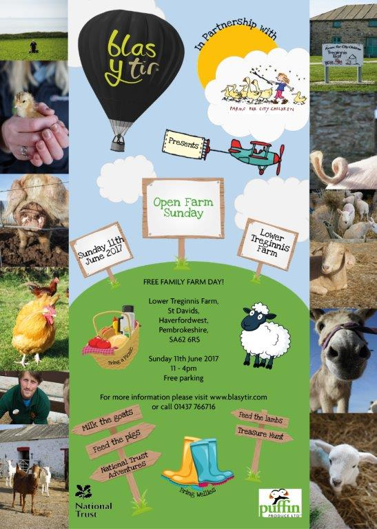 Open Farm Sunday Pembrokeshire 2017