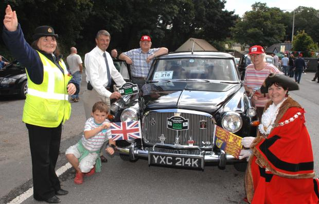 The 11th annual classic car run rolled through Pembrokeshire yesterday PIC Gareth Davies