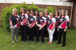 "Julia Brady, Sandra Cromwell, Carolyn Davies, Julie Davies, Sian Hill, Julie John, Deena Irving, Bethan Lewis, Heidi Lewis, Helen Lewis, Marina Morgan, Rhi Price and Tina Weake are taking part in the Women v Cancer ""Ride The Night"" cycle challenge in"