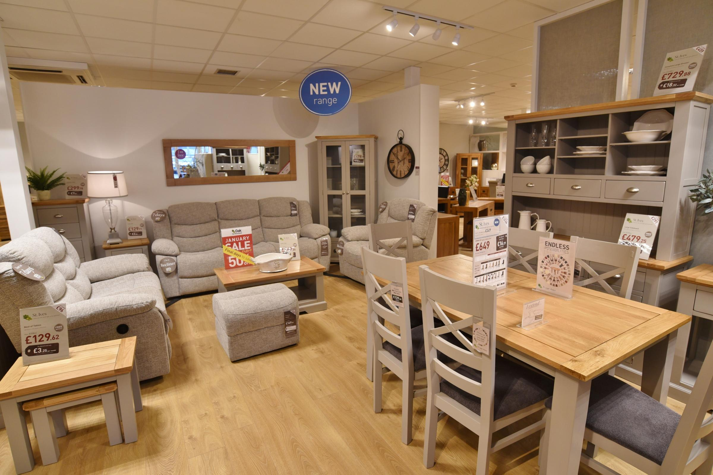 Major National Furniture Store Opens Its Door In Haverfordwest Today