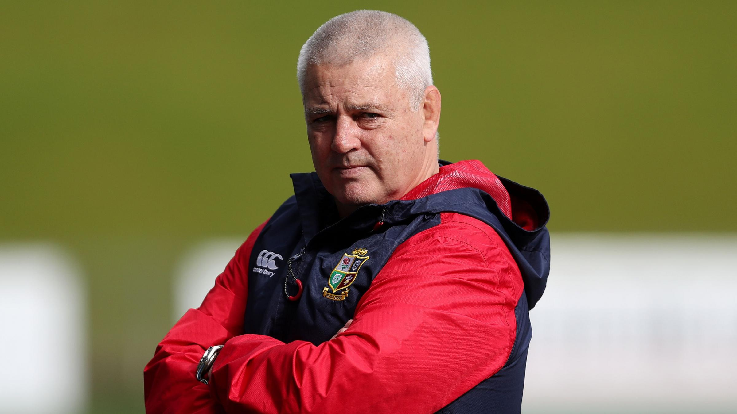 IN CHARGE: Wales head coach Warren Gatland