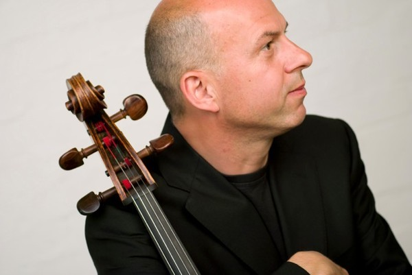 Cellist Tim Hugh