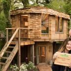 Western Telegraph: The Mushroom House (Amazing Spaces Shed Of The Year)