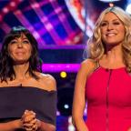 Western Telegraph: Claudia and Tess during last year's Strictly Come Dancing (BBC)