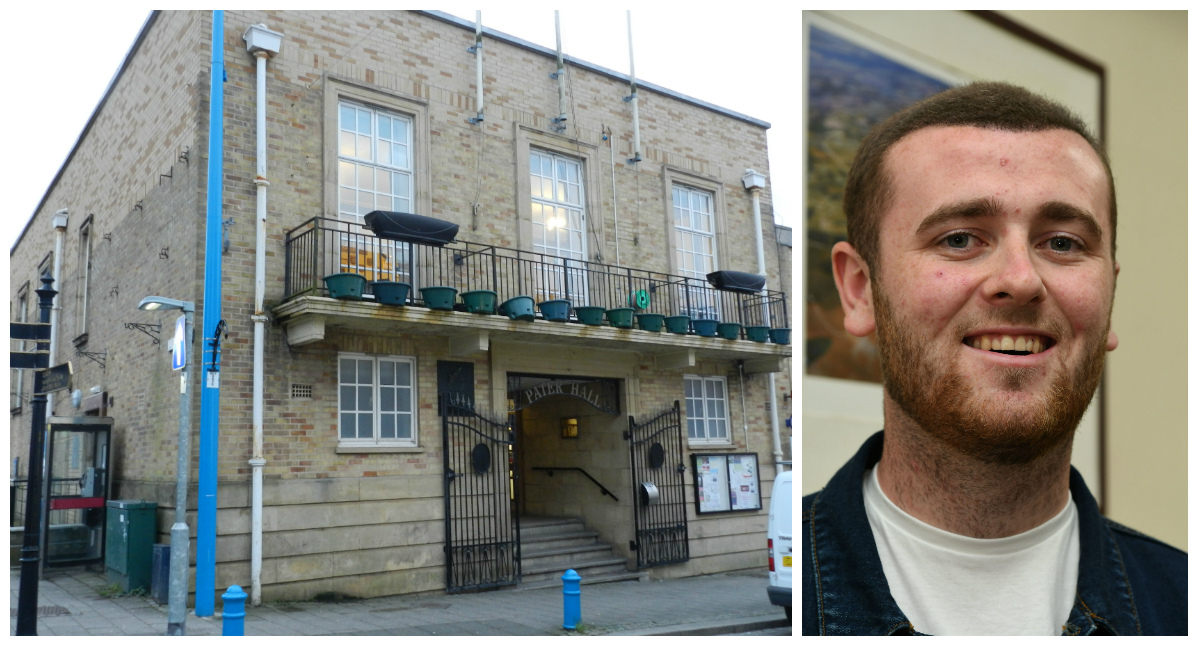 Motions made by Cllr Josh Beynon were backed by Pembroke Dock Town Council, which meets at the town's Pater Hall.