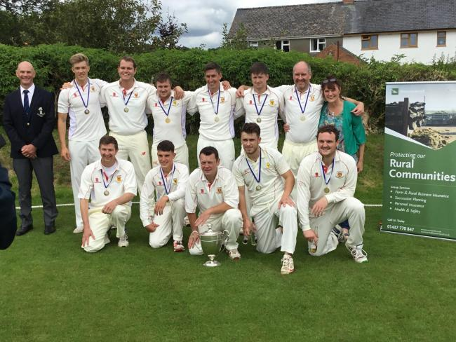 Carew Cricket Club are now Division One champions in farcical circumstances.