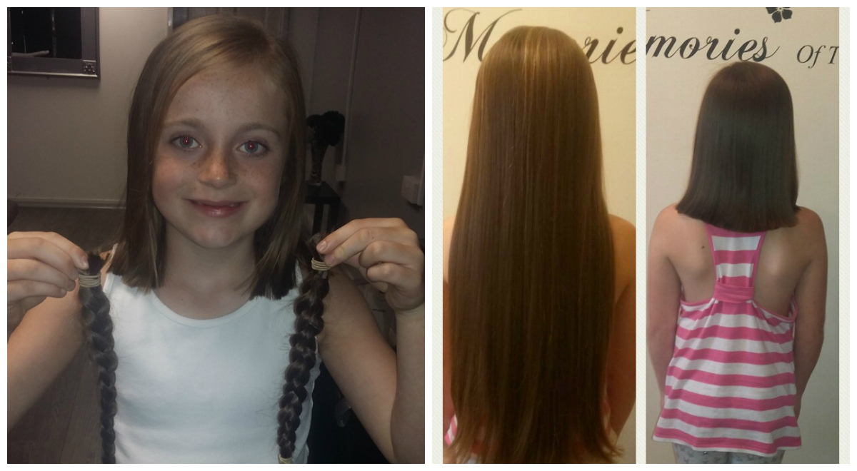 Ellie-May Brown raised more than £500 for the Little Princess Trust charity.