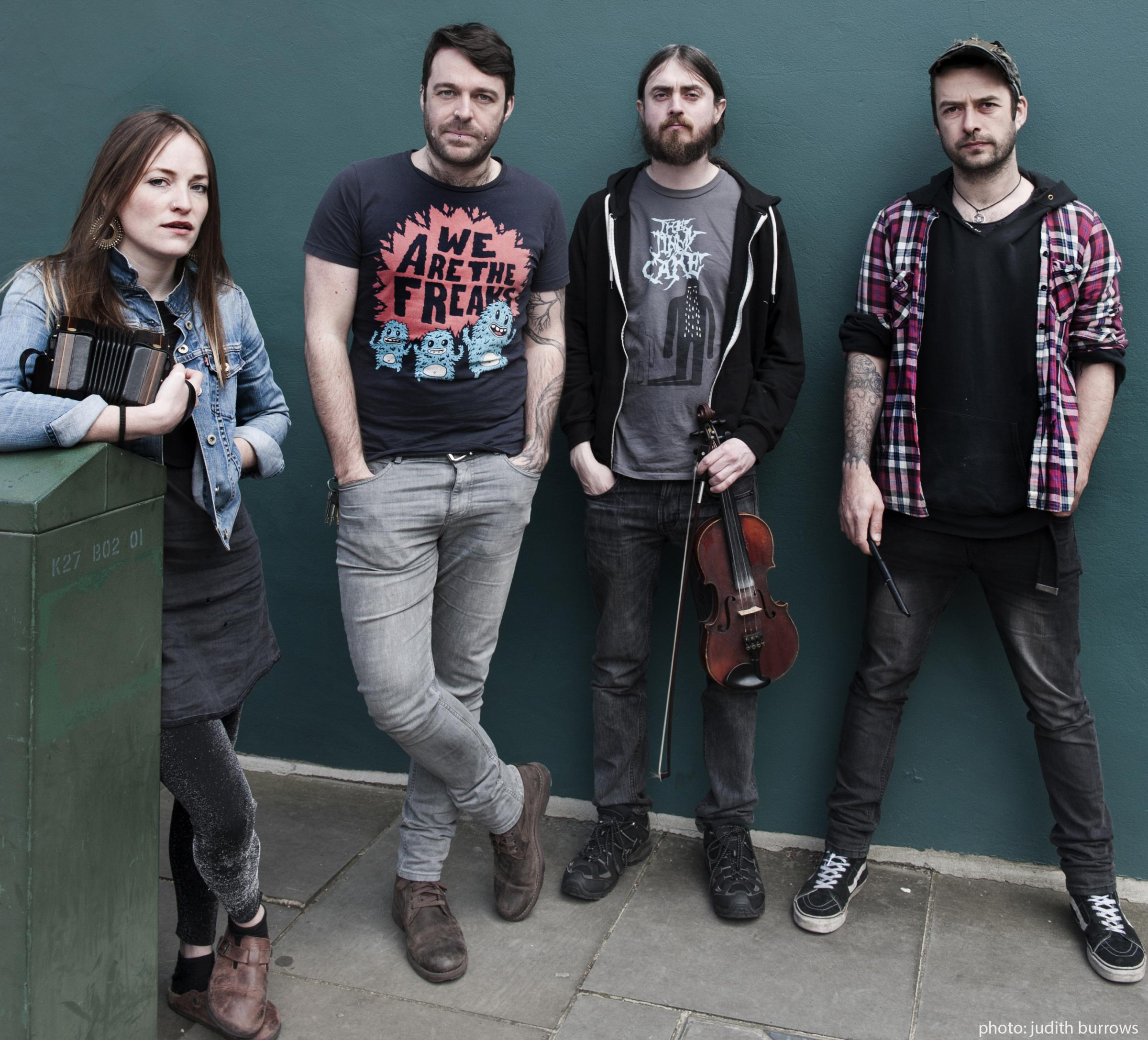 Traditional irish folk band Lankum