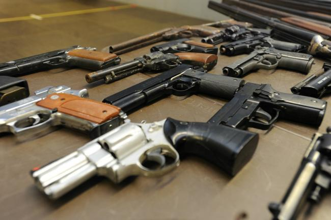 Dyfed-Powys Police are holding two weeks of gun amnesty.