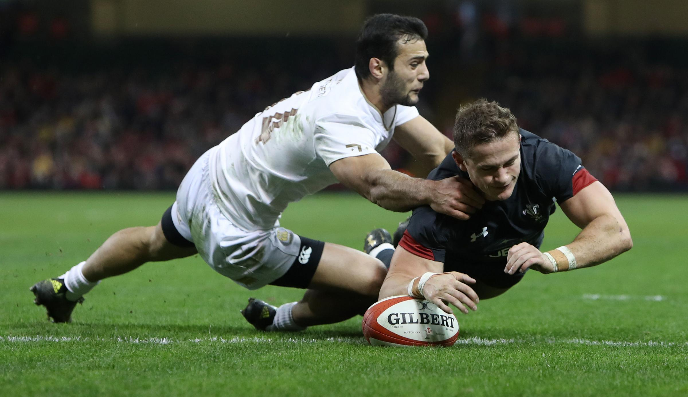 Wales 13 Georgia 6: Gatland's men escape after late 'scrum' drama