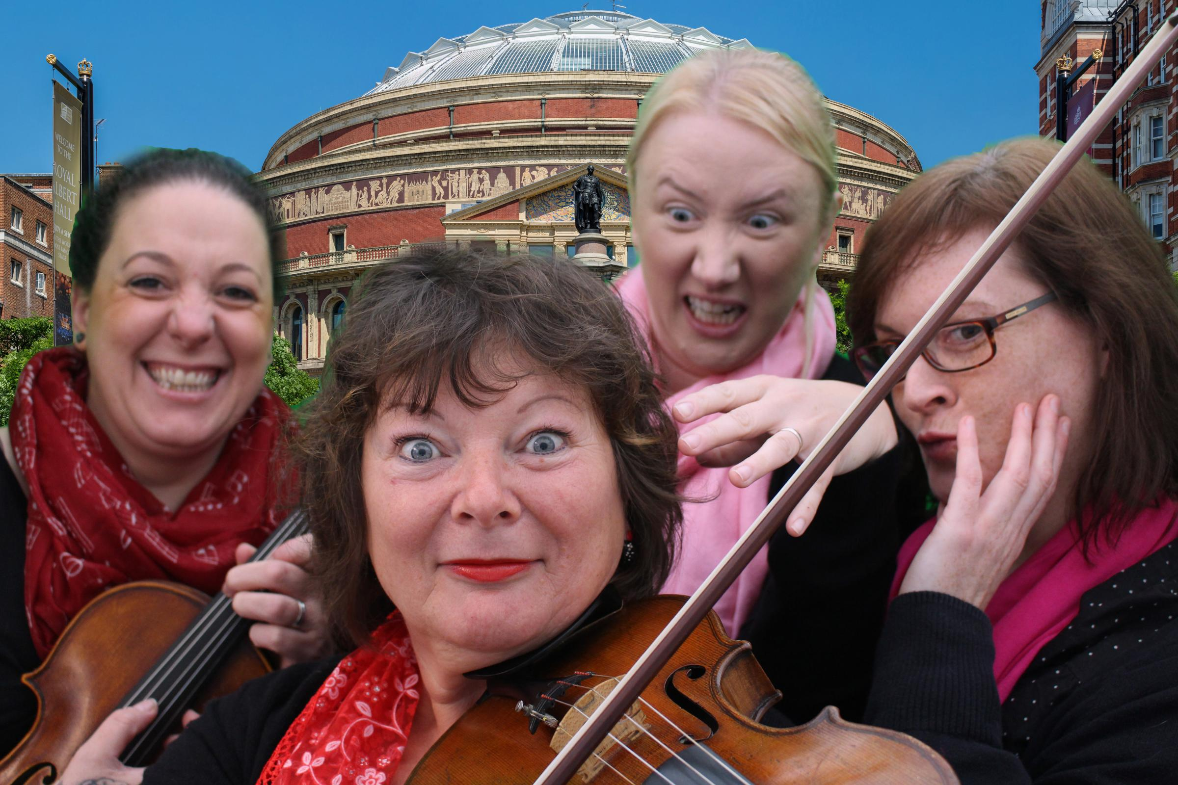 The Cwm Cerwyn Quartet will be playing at one of Llangwm's lunchtime concerts.