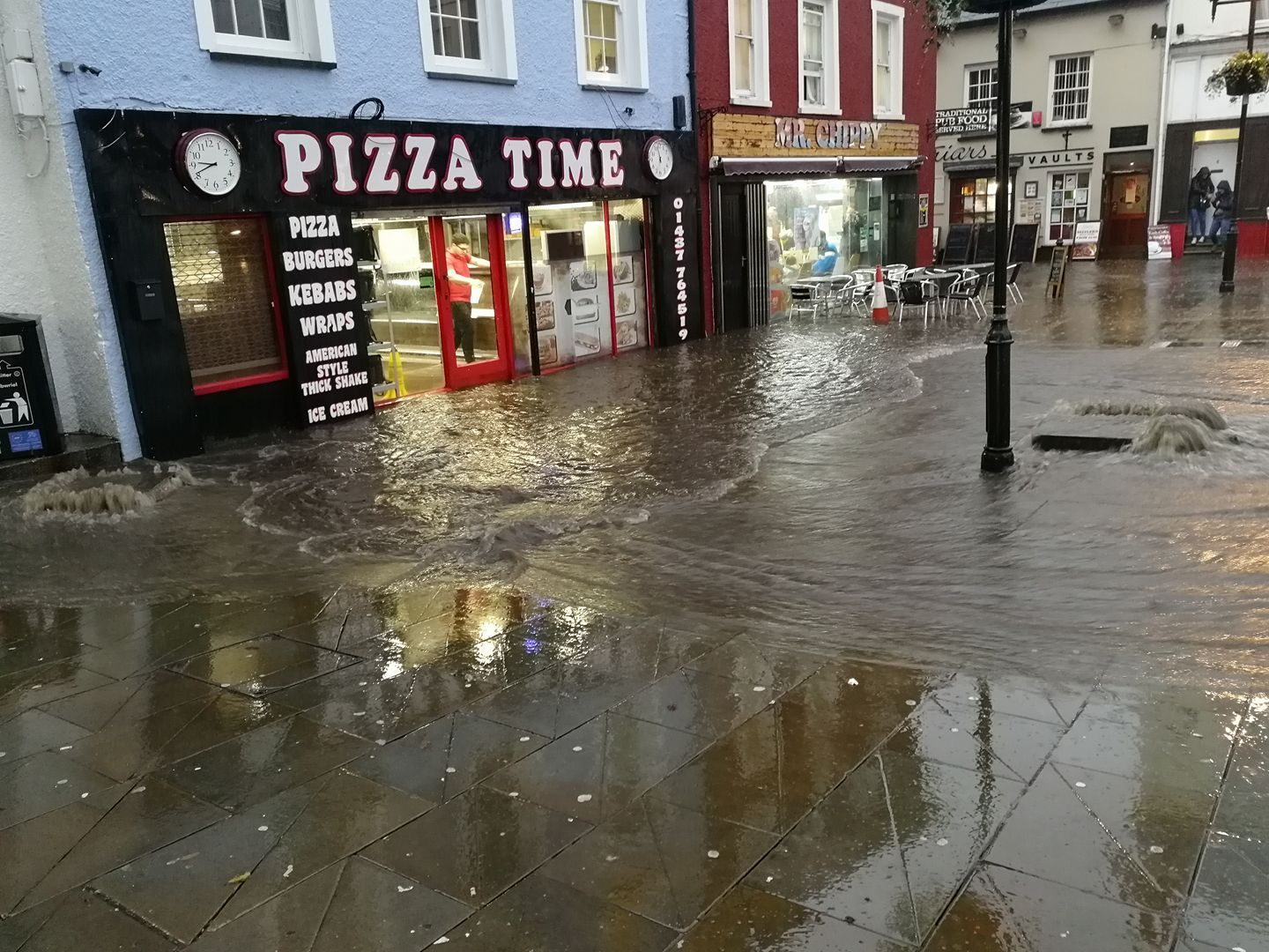 Pictures And Video Torrential Rain Causes Flooding Across