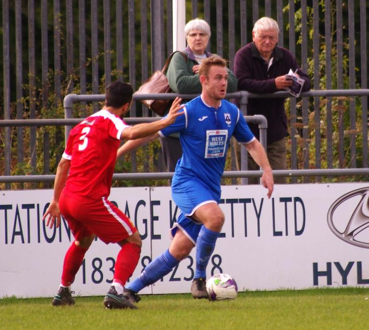 Joe Leahy made a scoring return for The Bluebirds.