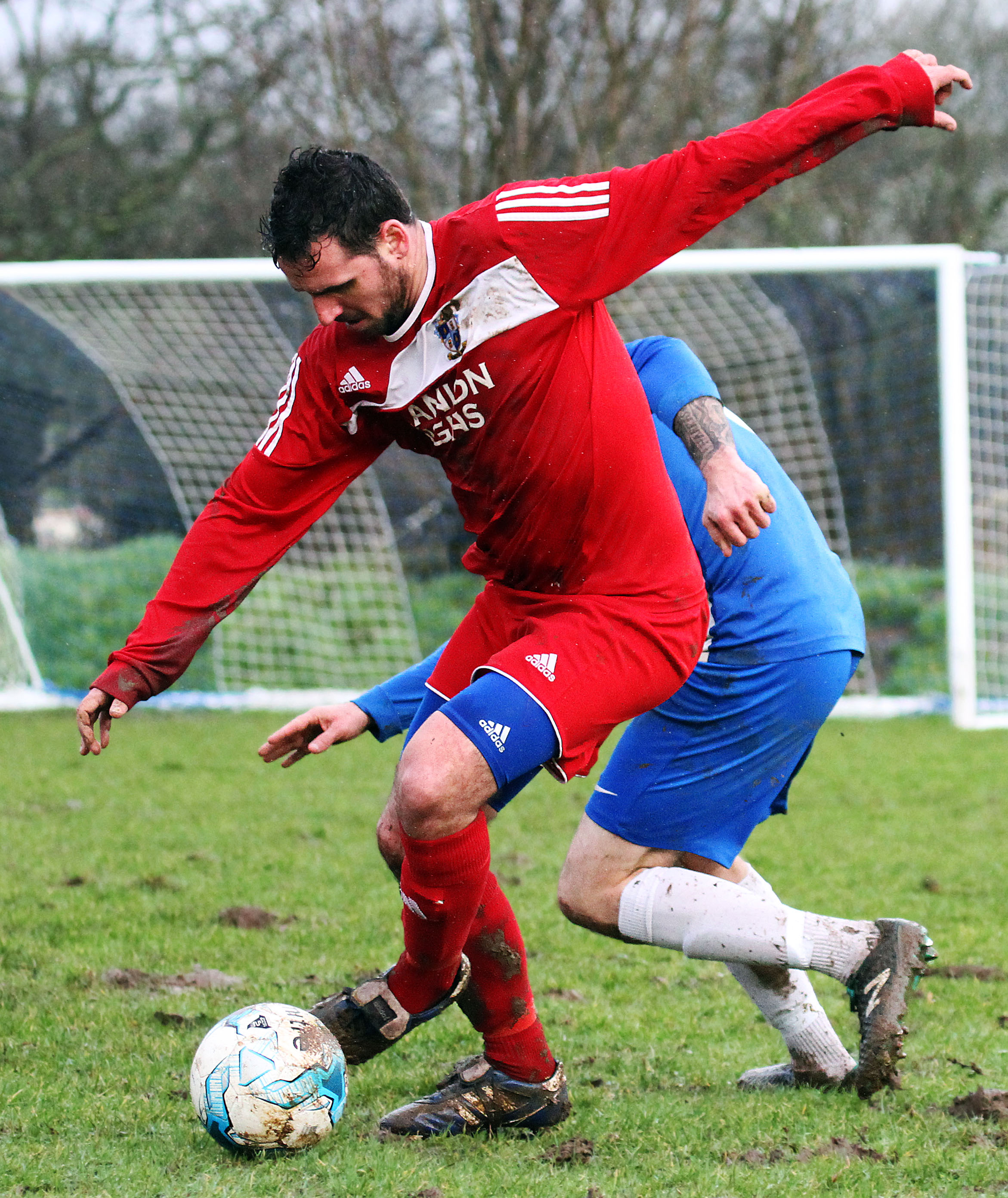 Monkton won 3-2 at Narberth last week in the only Division One game. PICTURE: Susan McKehon.