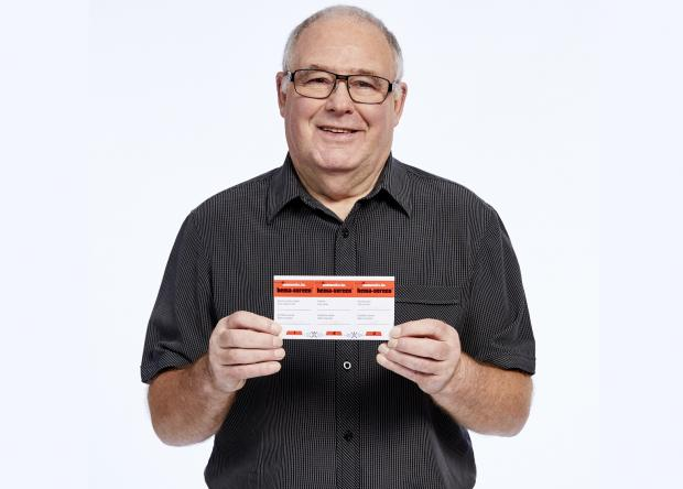 Western Telegraph: Cancer survivor John McSparron wants people to take the home screening test.