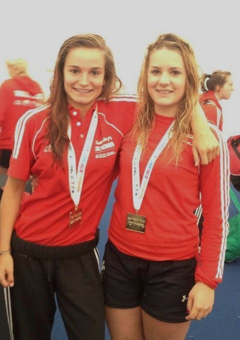 Team Wales include Olympian Jaz Joyce (left) in the women's sevens squad for the Commonwealth Games in Australia.