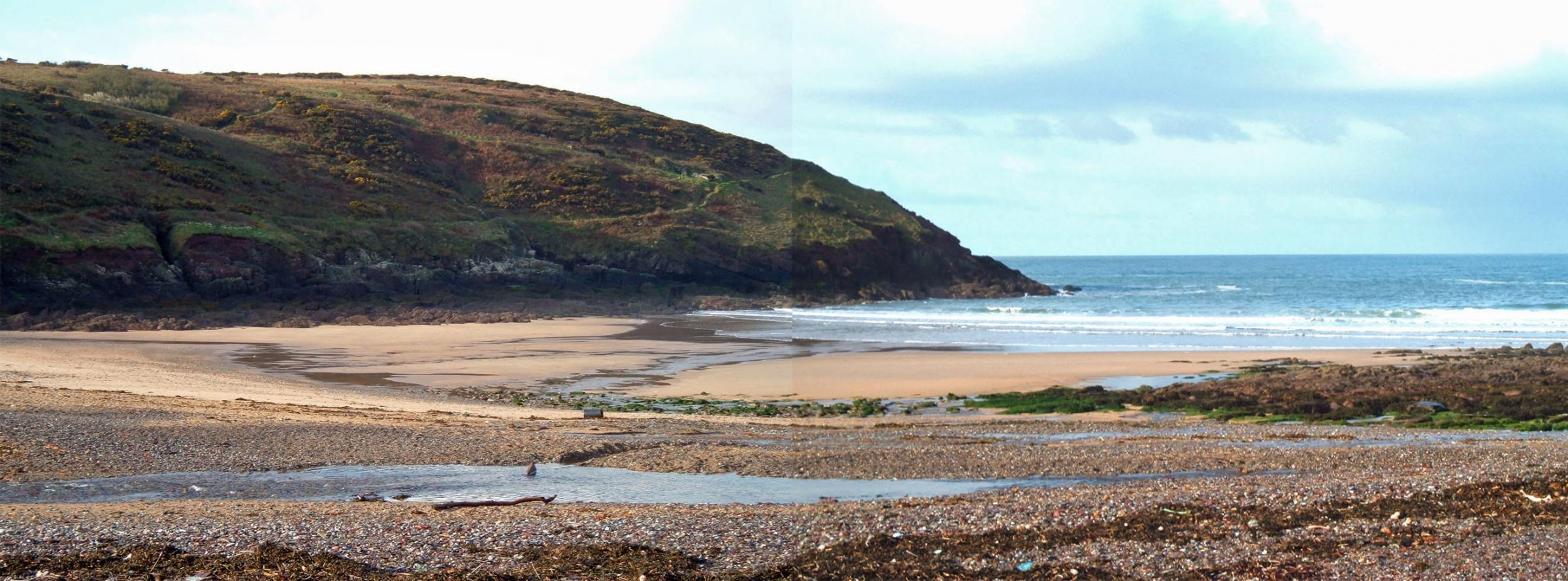 Manorbier Beach Sketchbook Walk (a BBC Get Creative event)