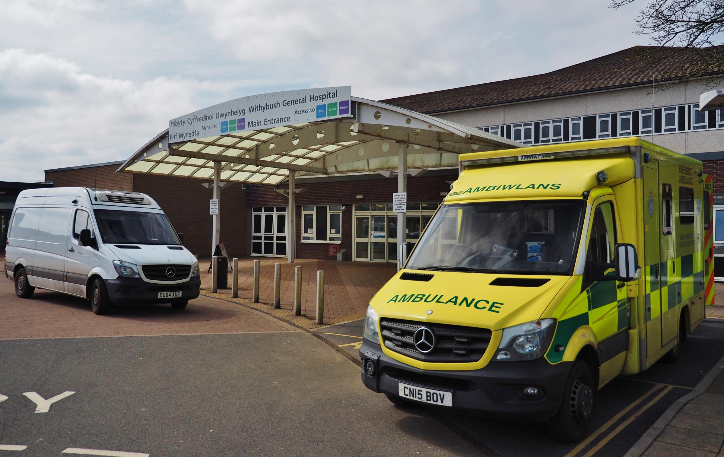 Withybush Hospital looks likely to lose its A&E department, and be replaced with a Minor Injuries Unit. PICTURE: Western Telegraph