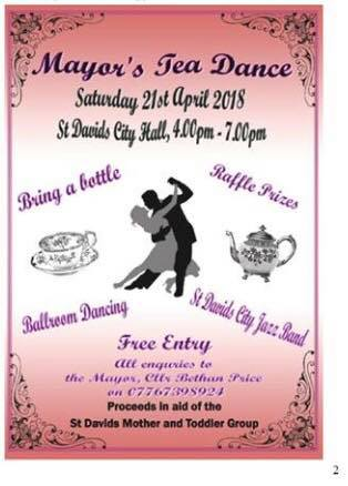 Free afternoon of tea, cake and music