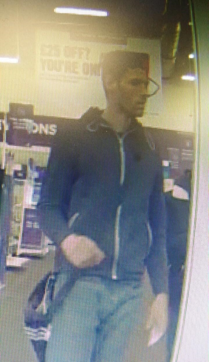 Do you recognise this man? CCTV appeal after Haverfordwest thefts