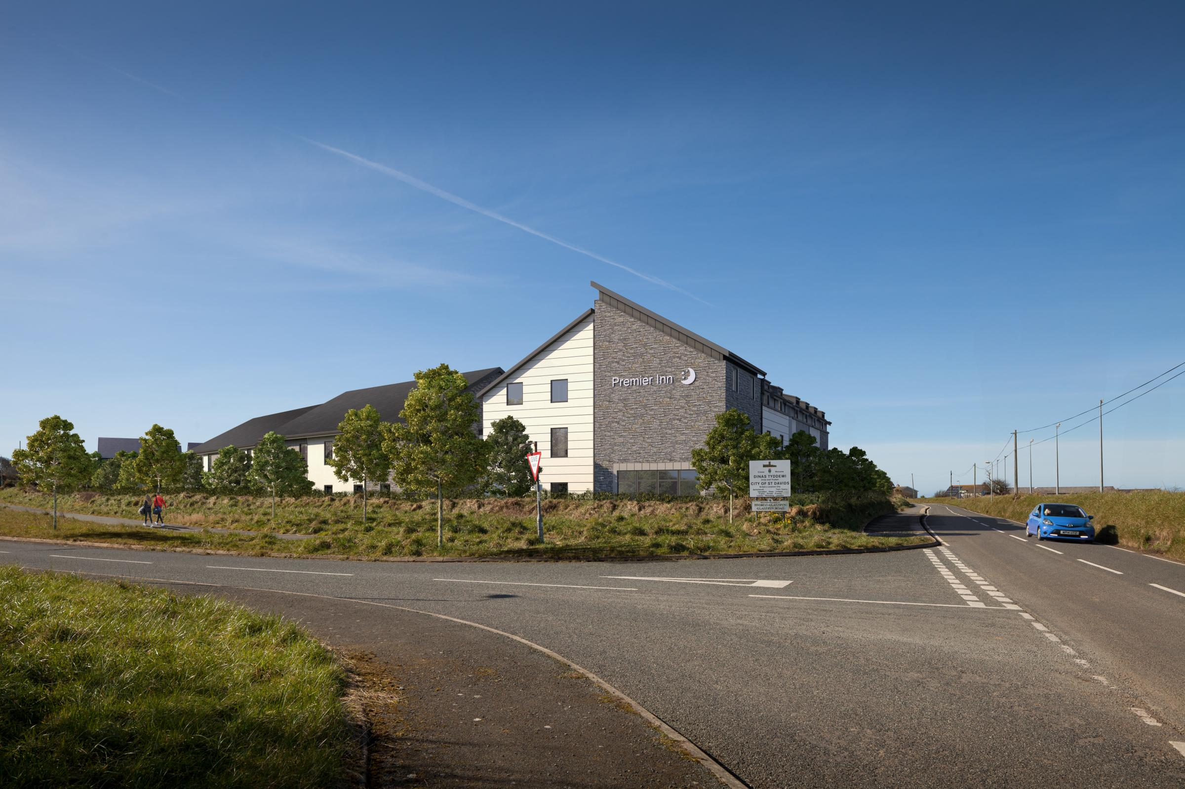 Thumbs-up on cards for St Davids Premier Inn | Western Telegraph