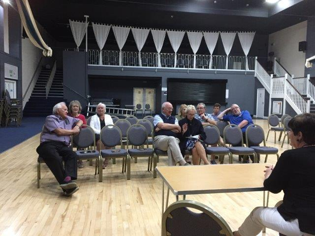 Tenby town councillors outnumbered members of the public at a meeting called by the mayor.